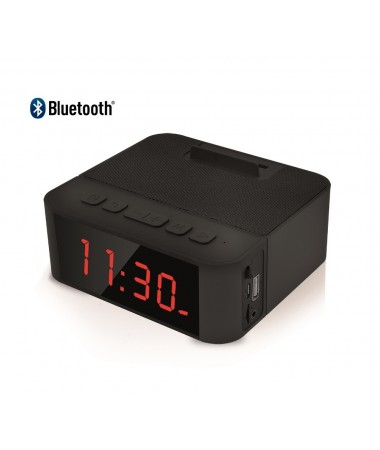 ( ✔✔✔ BU AY ÇOK POPÜLER  ) Home Time 50 - Taşınabilir Bluetooth Hoparlör ve Dijital Saat - Yeni Seri! ( Telefon Şarj Edebilme, Telefon Standı Dizaynı, Müzik Dinleyebilme & Telefon ile Konuşabilme + 6 Fonksiyon Bir Arada! )