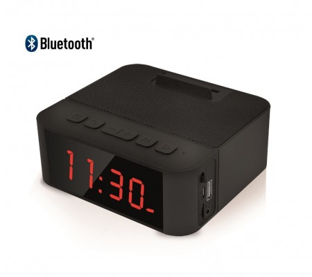 ( TÜKENMEK ÜZERE! SON 200 ADET ) Home Time 50 - Taşınabilir Bluetooth Hoparlör ve Dijital Saat - Yeni Seri! ( Telefon Şarj Edebilme, Telefon Standı Dizaynı, Müzik Dinleyebilme & Telefon ile Konuşabilme + 6 Fonksiyon Bir Arada! )