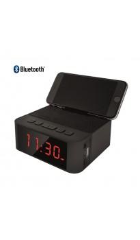 ( 1 Şubat Pazartesi Yeniden Stoklarda! )  Home Time 50 - Taşınabilir Bluetooth Hoparlör ve Dijital Saat - Yeni Seri! ( Telefon Şarj Edebilme, Telefon Standı Dizaynı, Müzik Dinleyebilme & Telefon ile Konuşabilme + 6 Fonksiyon Bir Arada! )