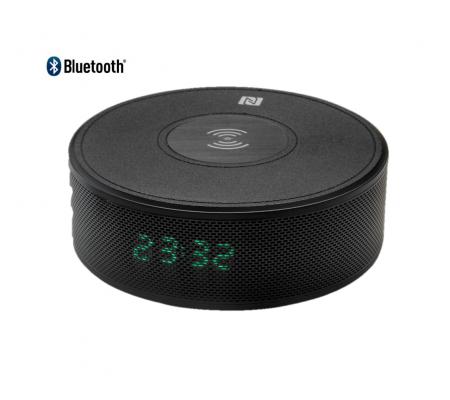 ( YENİ! ) Home Time 90 - Kablosuz Şarjlı Bluetooth Hoparlör ( Telefon Görüşmesi Yapabilme,  Dahili Batarya & Dijital/Alarm Saat )