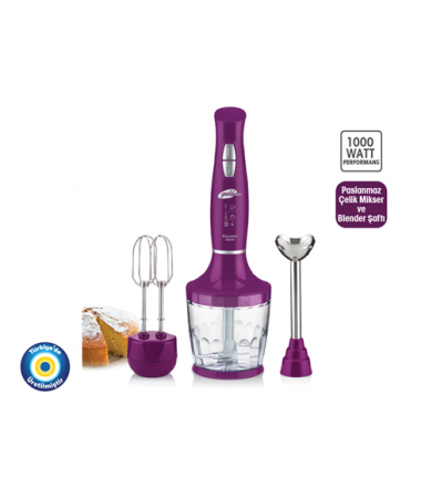 GM-7240M YASEMİN Blender Seti
