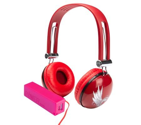 Pro Enjoy Set V10 - TÜKENMEK ÜZERE! ( Pro Enjoy Setiniz ile Eğlence Yanı Başınızda! Dayanıklı, Hafif, Esnek, Kırmızı Kablolu Kulaklık Üstelik Kırmızı ve Pembe 2600 Mah Powerbank Hediye! )