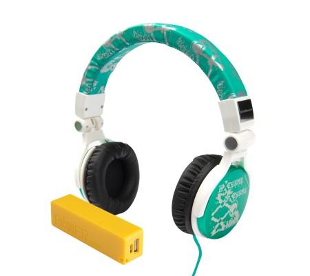 Pro Enjoy Set V8 ( Pro Enjoy Setiniz ile Eğlence Yanı Başınızda! Dayanıklı, Hafif, Esnek, Turkuvaz Kablolu Kulaklık Üstelik Sarı ve Yeşil 2600 Mah Powerbank Hediye! )