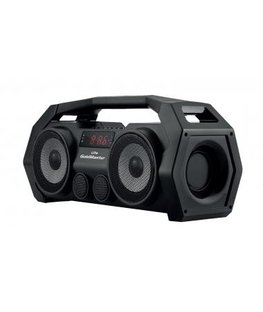 ( TÜKENDİ! ) Life Bluetooth Hoparlör ve Radyo ( Siyah / Geliştirilmiş Yeni Model! Tüm Akıllı Cihazlar ile Uyumlu! Yüksek Ses Çıkışı, SD, USB, AUX ve Mikrofon Özelliği! )