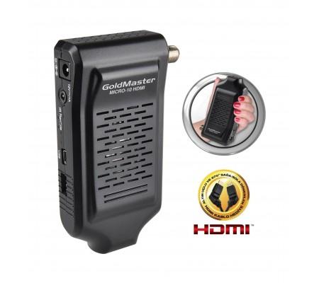 Micro-10 Dijital Uydu Alıcısı ( Mini Boyutlar, HDMI Çıkış & Kolay ve kullanışlı menü dizaynı )
