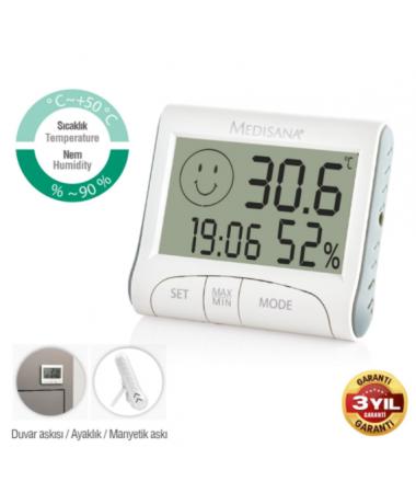 Med-60079 Oda İçi Termometre ( Nem göstergesi / Sıcaklık göstergesi )