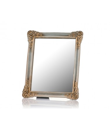M58-129-Güllü Altın Ayaklı Ayna 30*25