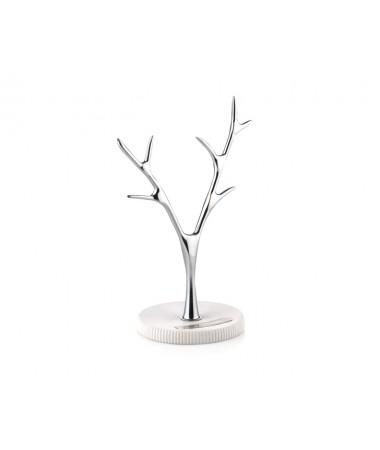 Pr83-1008-Beyaz Çizgili Takı Askılığı