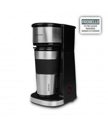 PB-3231 ProBello Filtre Kahve Makinesi (  Seyahat Bardağı Hediye! Dilerseniz Kupada Dilerseniz Seyahat Bardağınızda! Taze Filtre Kahveniz Her Zaman Yanınızda! )