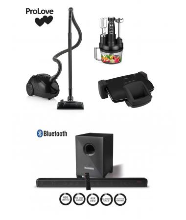ProLove PLUS Çeyiz Seti ( ProClean, ProChef, ProToaster ve Bluetooth Woofer Soundbar - Trend Renkleri İçeren Çizgileri ve Özel Seçkileri ile En Şık Çeyiz Setleri! )