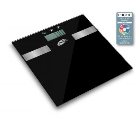 PF-3220 ProFit Vücut Analiz Baskülü ( Vücut Yağ, Su, Kas & Kemik Oranı Gösterme! 10 Kişiye Kadar Hafıza da Tutma )