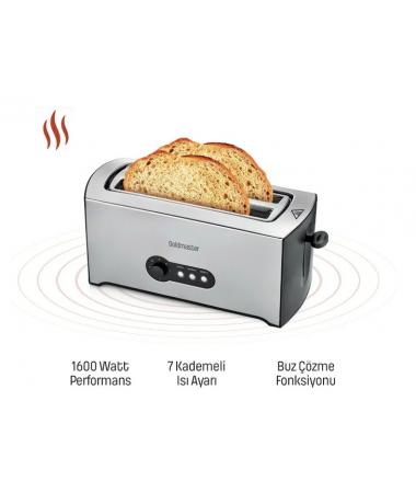 ( ÇOK YAKINDA STOKLARDA ) ProGrano Ekmek Kızartma Makinesi ile Her Gün Kızarmış Çıtır Ekmek Keyfi! (  Hızlı Hazırlama & 7 Kademeli Sıcaklık Ayar Düğmesi )