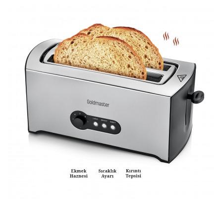 PT-3246 ProGrano Ekmek Kızartma Makinesi ile Her Gün Kızarmış Çıtır Ekmek Keyfi! ( Buz Çözme ve Yeniden Isıtma Fonksiyonu & 7 Kademeli Sıcaklık Ayarı )