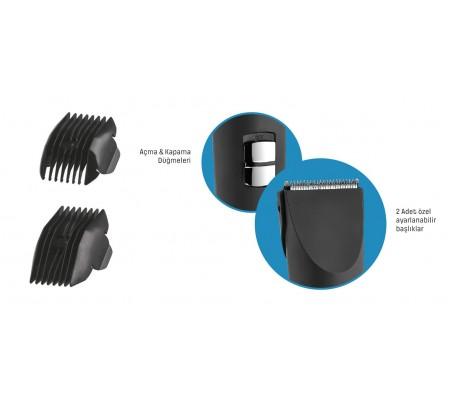( YENİ SERİ! ) PH-3229 ProHair Saç & Sakal Şekillendirme Makinesi ( Hızlı, Pratik ve Hassas Bakım! Kompakt Tasarım ve Kablosuz Kullanım )