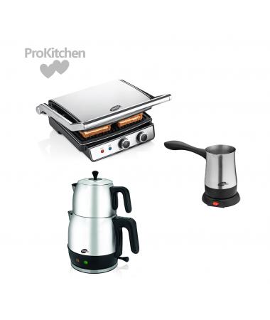 ProKitchen Çeyiz Seti ( ProBrew, ProBean ve ProRoyal - Trend Renkleri İçeren Çizgileri ve Özel Seçkileri ile En Şık Çeyiz Setleri! )