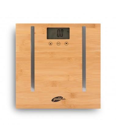 PS-3228 ProLight Bambu Vücut Analiz Baskülü ( Vücut Yağ, Su, Kas & Kemik Oranı Gösterme & Bambudan Yapılmış Dekoratif Tasarım )