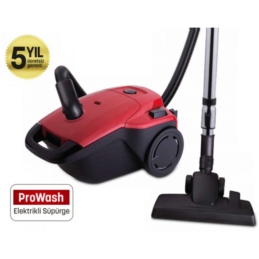 PW-3204 ProWash Elektrik Süpürge ( 4 Litre Yıkanabilir Toz Torbası - Üstün  Çekim Performansı )