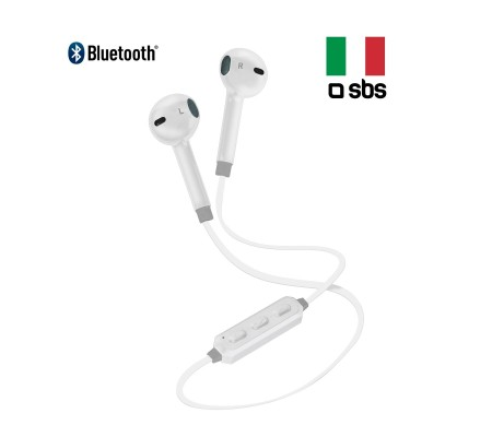 SBS-BT700 Boyun Askılı Bluetooth Kulaklık / Beyaz ( Kulağa Tam Uyan Tasarımı ve Boyun Askısıyla Ekstra Konforlu ve Pratik Kullanım İmkanı )