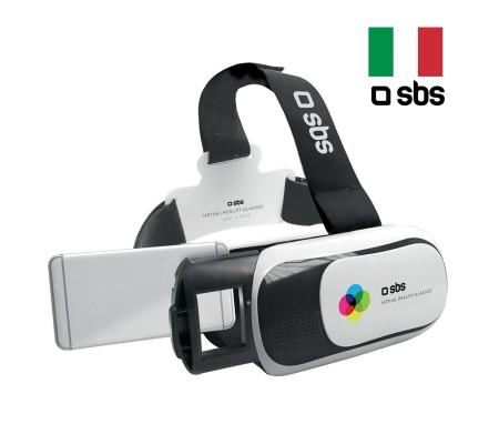 SBS-26083 360° VR Gözlük ( Ayarlanabilir Lens & Ergonomik Dizayn )