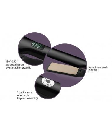 PA-3216 ProSense Saç Düzleştirici  ( Keratin Plaka & Mükemmel Koruma! - Sıcaklık Sabitleme Fonksiyonu / ProSense İle Güne Güzel Başlayın! )