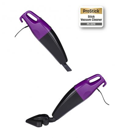 PS-3210 ProStick Dik Elektrikli Süpürge ( Hem Dik Hem Elde Kullanım Avantajı!  Pratik ve Hafif - Çift Filtresi ile Tozun Dışarı Çıkmasını Önleyen Özel Sistem! )