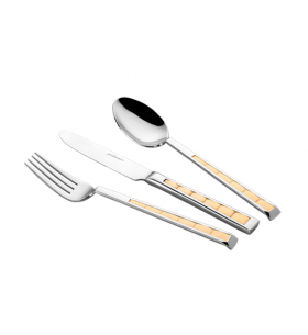 Ck-301 Altın Kaplamalı Çatal Bıçak Seti