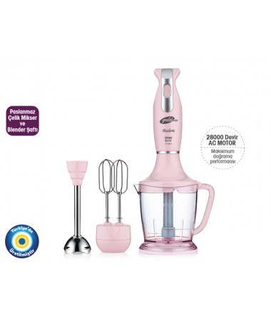 Gm-7234P Badem Blender Set