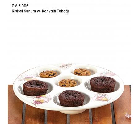 Gm-Z 906 Kişisel Sunum & Kahvaltı Tabağı ( Misafirlerinize en güzel sunumları hazırlayabilirsiniz. )