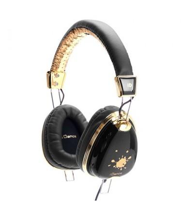 İdance Funky-100 Kulaklık-Altın-Siyah