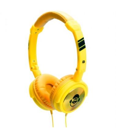 İdance Jockey-100 Kulaklık-Sarı