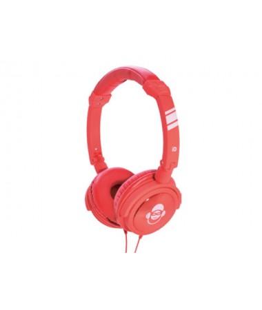 İdance Jockey-610 Kulaklık-Kırmızı  (Mikrofon özelliği ile Idance Jockey her zaman yanınızda! )