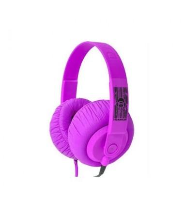 İdance Sdj-550 Kulaklık-Mor (Rengarenk Renk Seçenekleri İle Müziğin Keyfine Varın !)