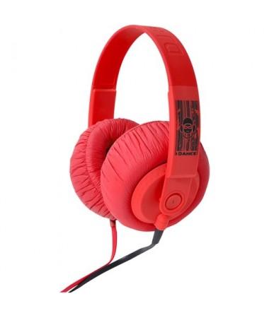 İdance Sdj-750 Kulaklık-Kırmızı (Rengarenk Renk Seçenekleri İle Müziğin Keyfine Varın !)