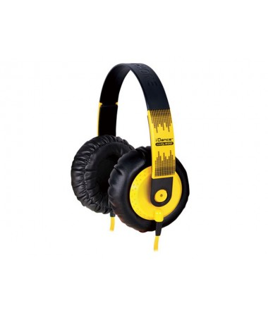 İdance Sedj-600 Kulaklık-Sarı (Eşsiz Ses Deneyimi !)
