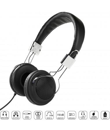 Vivanco 34877-Street Style X-Bass Kulaklık-Siyah ( Özel Tasarım & Üstün Ses Kalitesi! )