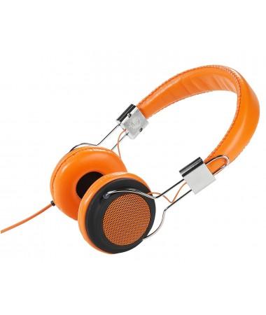 Vivanco 34882-Street Style X-Bass Kulaklık-Turuncu ( Özel Tasarım & Üstün Ses Kalitesi! )