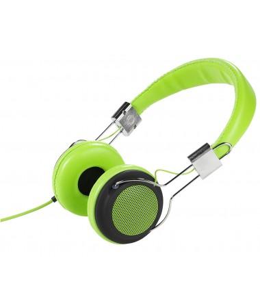 Vivanco 34879-Street Style X-Bass Kulaklık-Yeşil ( Özel Tasarım & Üstün Ses Kalitesi! )
