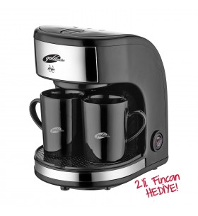 GM-7331 Zinde MİNİ Filtre Kahve Makinası - Dünya Kupasını İzlerken Sıcacık Filtre Kahveniz Yanınızda!